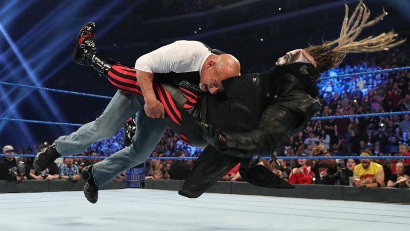 Goldberg speared