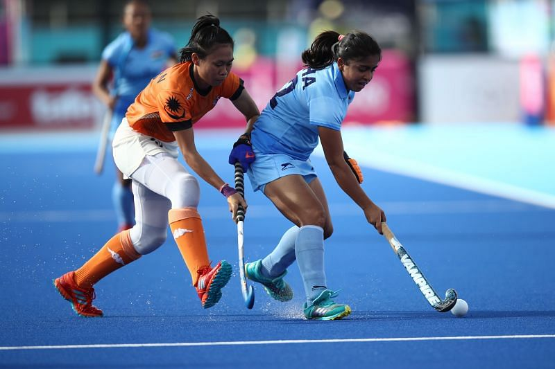 Neha Goyal in action
