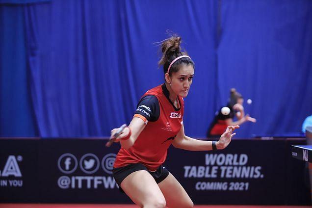 Manika Batra (Image Credits - ITTF)