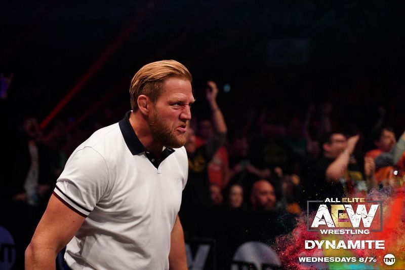 It seems like Hager is gearing up for his AEW in-ring debut (Pic Source: AEW)