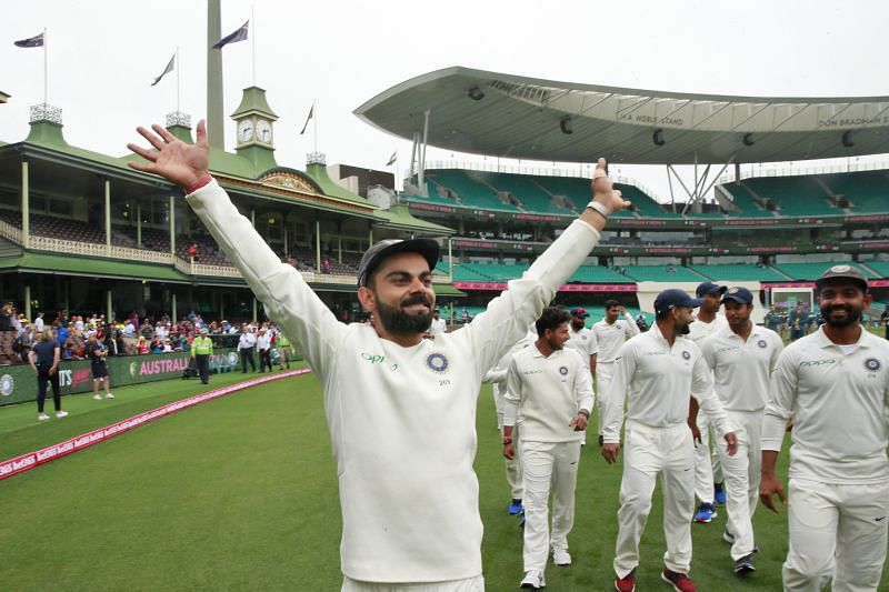 This team captained by Virat Kohli know how to win Test matches