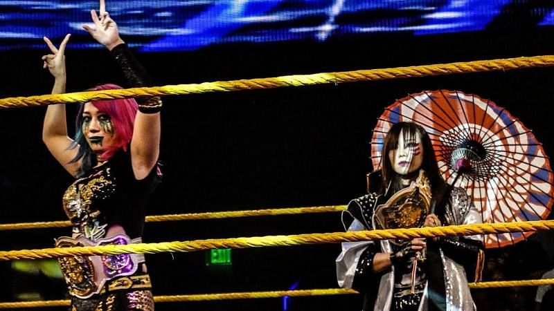The Kabuki Warriors are currently the longest reigning WWE Women