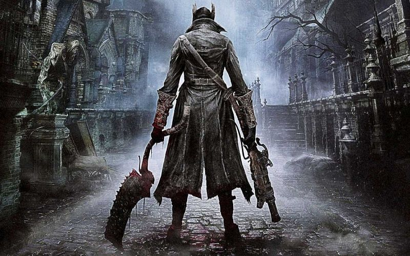 Bloodborne gameplay revolved more around reaction and dodging than using a shield