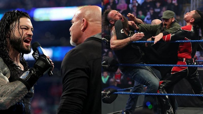 SmackDown returned to build towards Elimination Chamber and WrestleMania this week