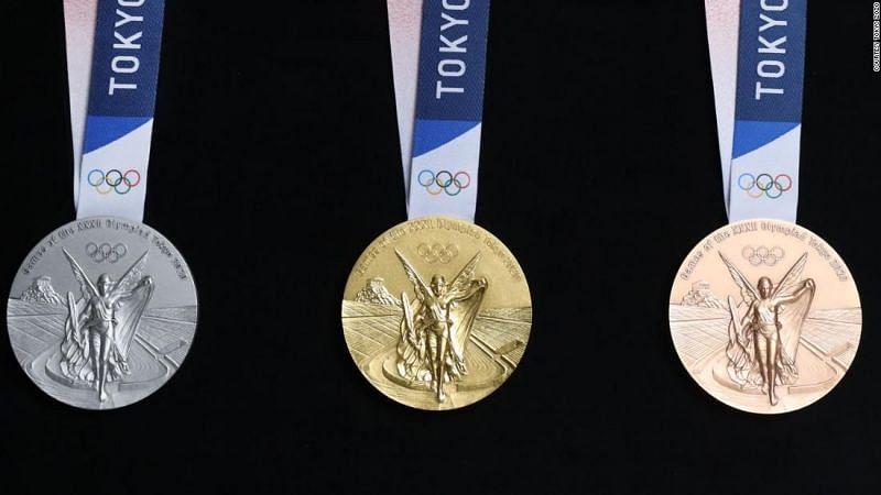 Tokyo 2020 Olympic medal