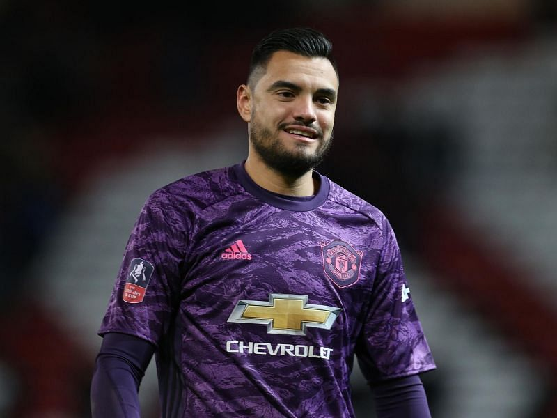 Sergio Romero is currently been kept on the bench by De Gea