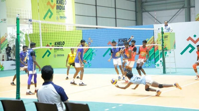 The Day 4 action saw the medal matches in Volleyball at the Khelo India University Games 2020