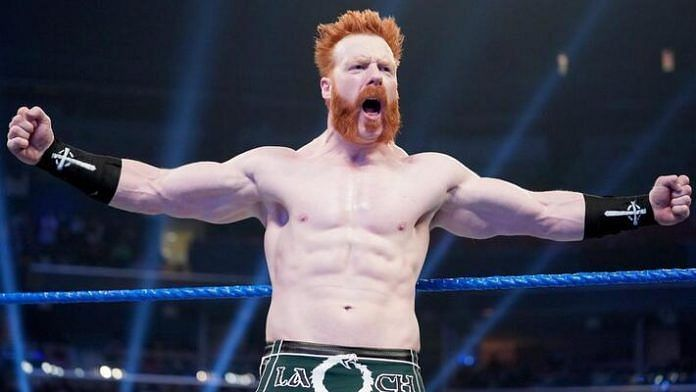 I caught up with Sheamus!