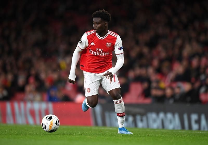 Bukayo Saka is attracting interest from a trio of top clubs across world football