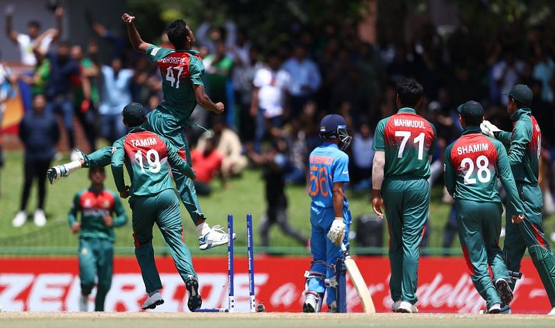 Bangladesh held their nerve better on the day and beat India in a thrilling encounter to lift their maiden U19 World Cup