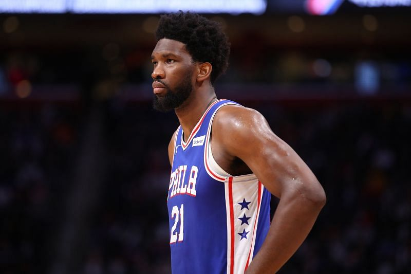 Joel Embiid and the Philadelphia 76ers host the Atlanta Hawks