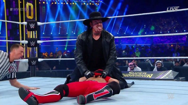 The Undertaker vs AJ Styles should be booked as a memorable feud