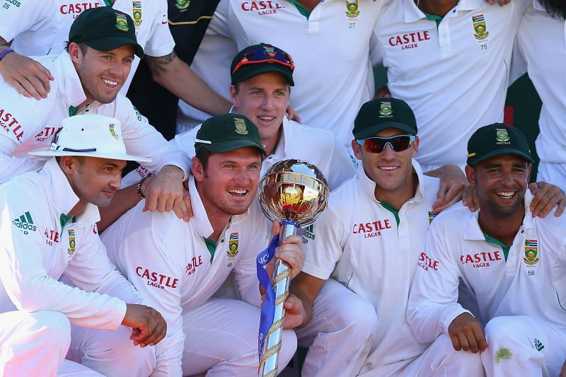 Graeme Smith was an inspirational leader for South Africa