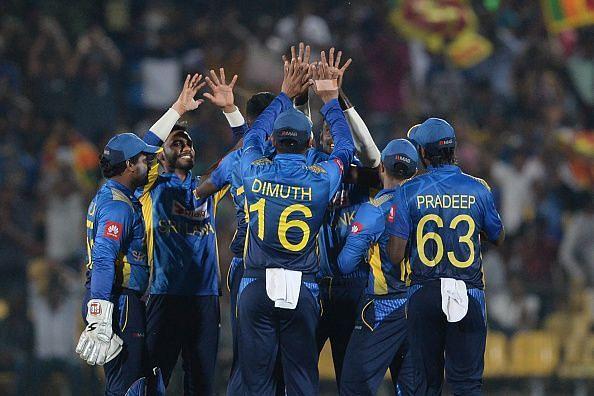 श्रीलंका की एकतरफा जीत