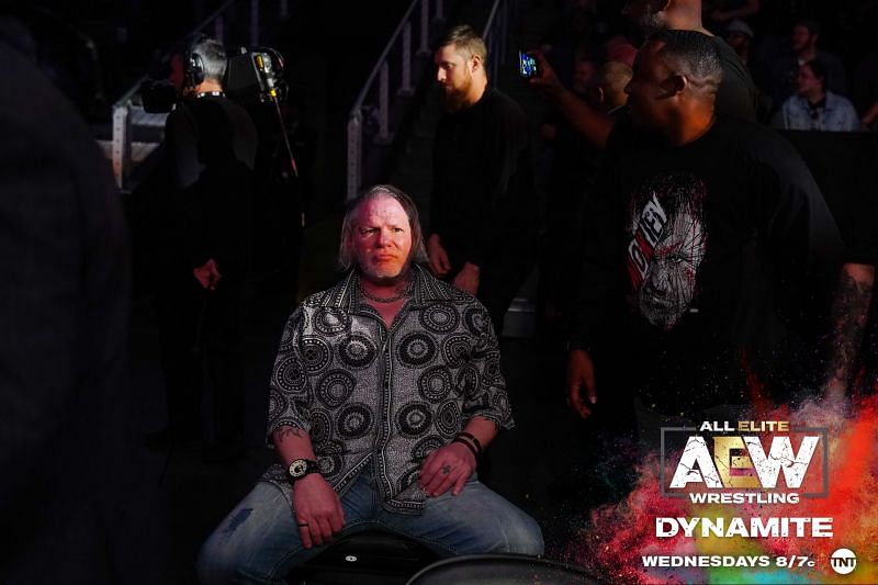 Is he the leader of The Dark Order? (Pic Source: AEW)