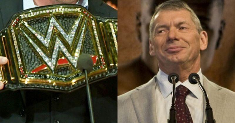 WWE Championship/ Vince McMahon.