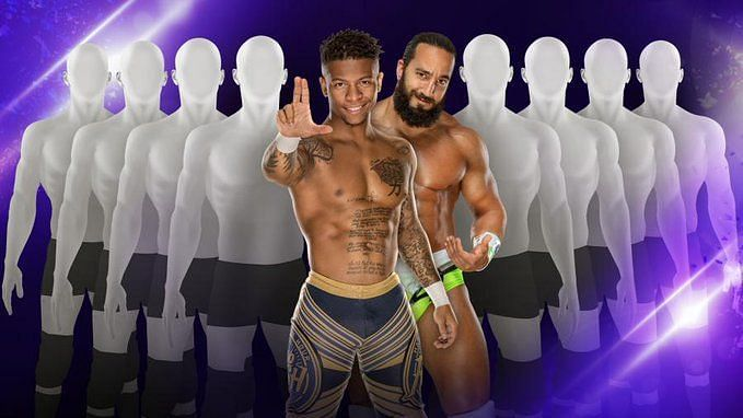 Who will join Tony Nese & Lio Rush in an epic NXT/205 Live match?