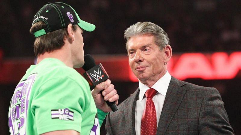 John Cena answered Vince McMahon