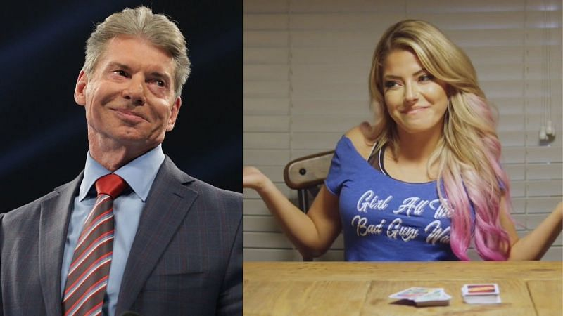 What did Vince think about BFS releasing a song about Alexa Bliss?