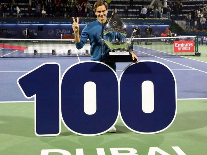 Roger Federer captured his 100th career singles title at the 2019 Dubai Open