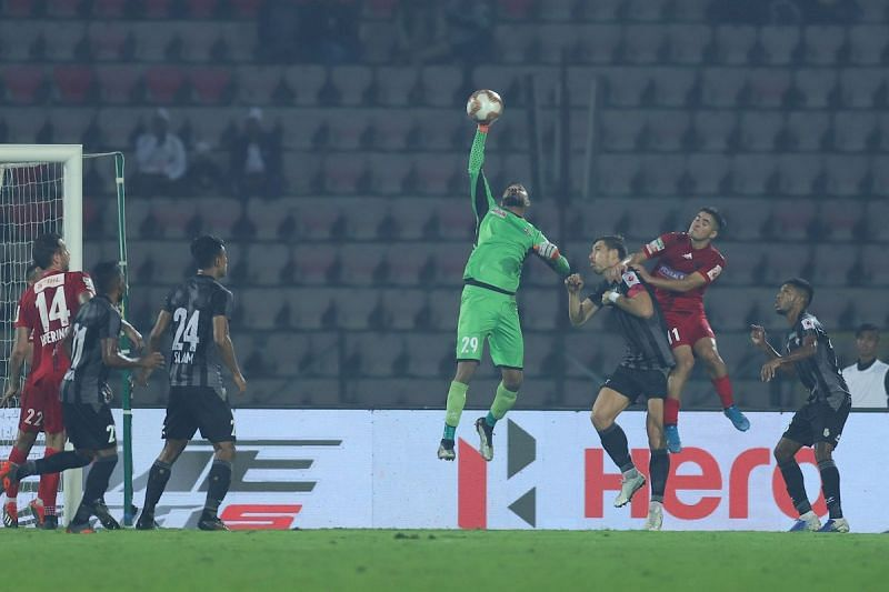 Arindam Bhattacharya has provided solidarity to the ATK defense with his spectacular saves