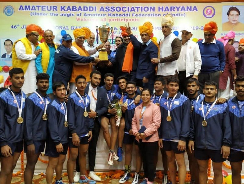 Sports Authority of India (SAI) boys clinched the gold medal in the 46th Junior Nationals.