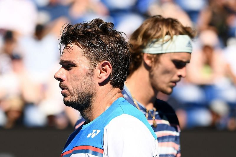 Stan Wawrinka (left) moves up the rankings