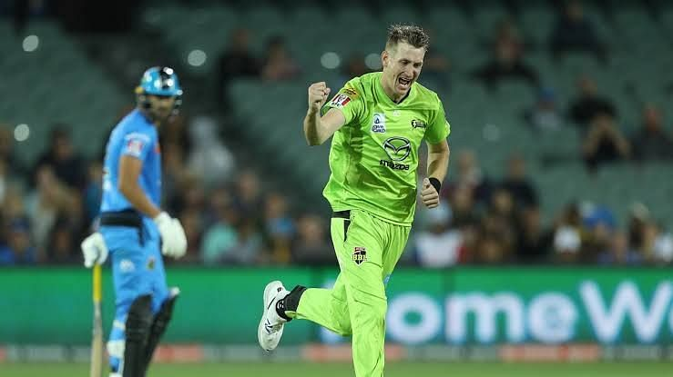 Chris Morris was outstanding in the death overs.