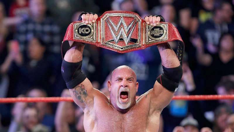 Goldberg is being advertised for the upcoming episode of SmackDown.