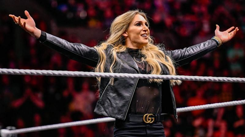 Charlotte Flair at NXT Takeover: Portland