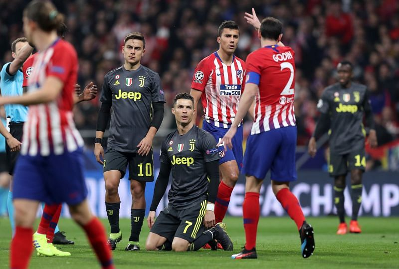Atletico took a 2-0 lead in the first leg of their round of 16 tie with Juventus last season - but lost 3-0 in the second