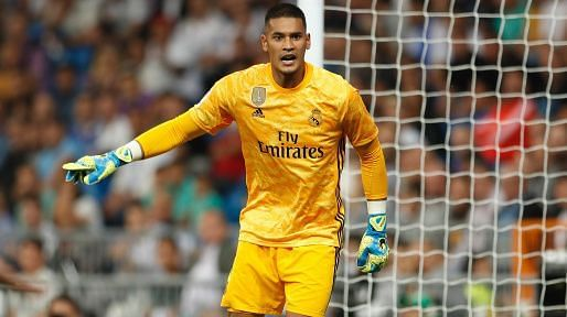 Areola has played just three games for Real Madrid this season