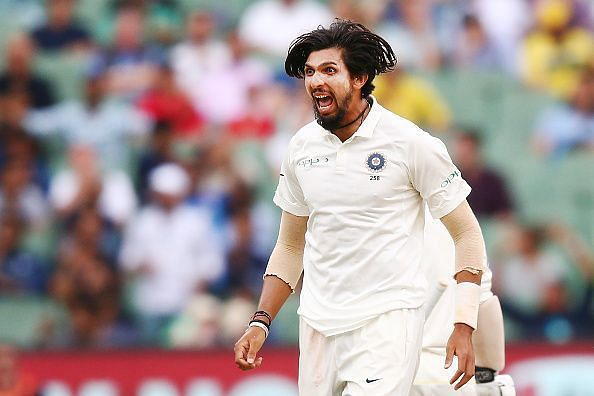 Ishant Sharma took five-fer in the first innings of the 1st Test against NZ.