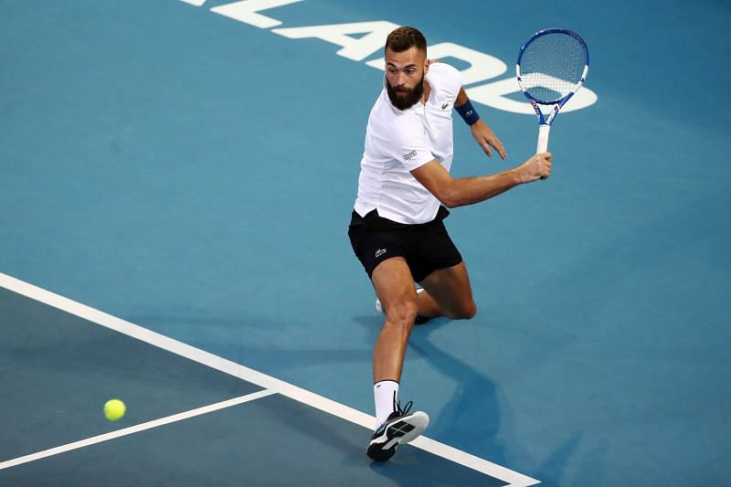 Benoit Paire is one of the many dangerous floaters in this section.
