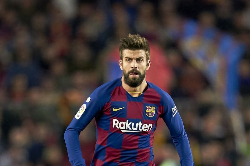 Barcelona and Gerard Pique have not been at their best this season
