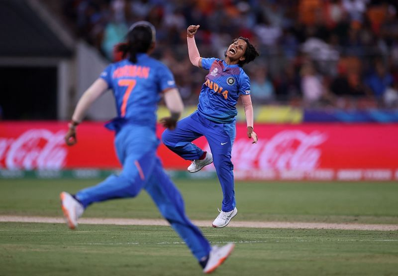 Poonam Yadav claimed 35 wickets at an astonishing average of 14.91 in 25 innings in 2018
