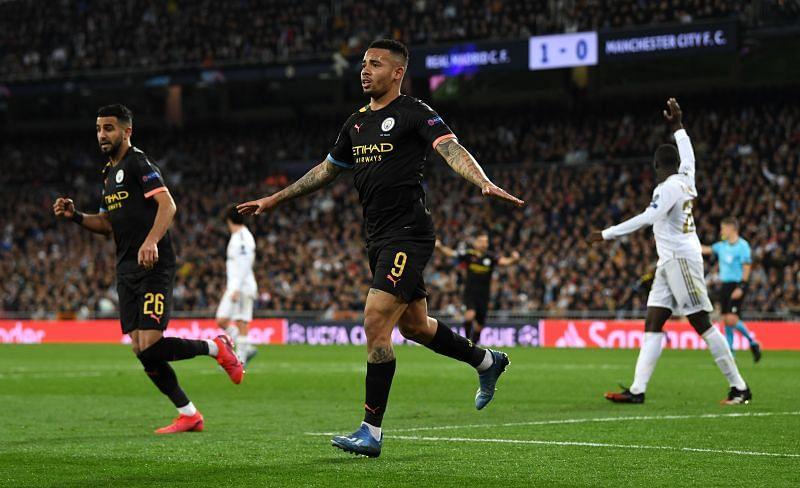 Gabriel Jesus got the equaliser for Manchester City.