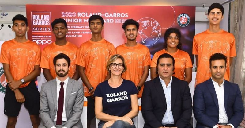 Mary Pierce was impressed by the junior Indian players at the Roland Garros Junior Wild Card Series