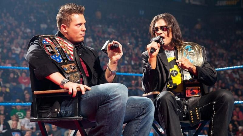 The Miz and John Morrison in their WWE heyday.