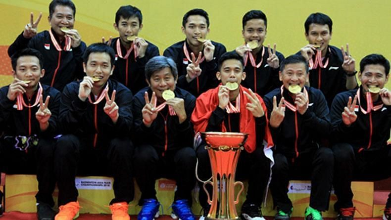 Indonesia win the title for the third time in a row