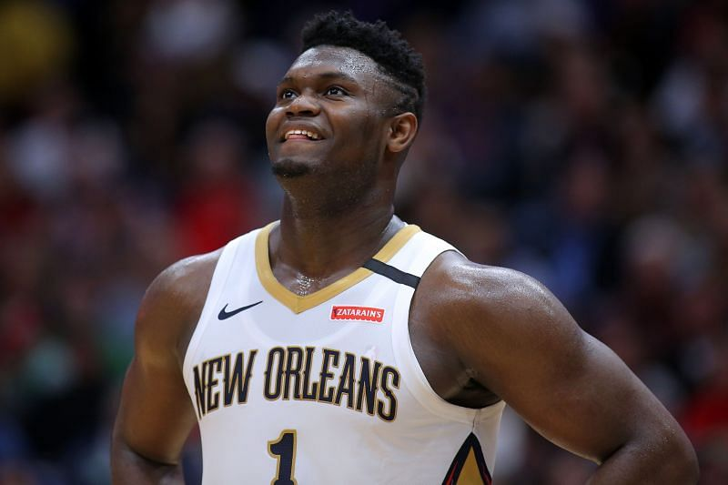 Zion Williamson and the New Orleans Pelicans take on the Portland Trail Blazers