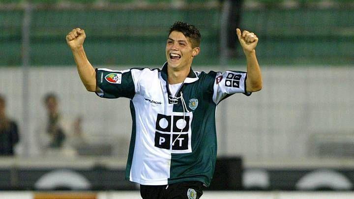 Ronaldo at Sporting Lisbon