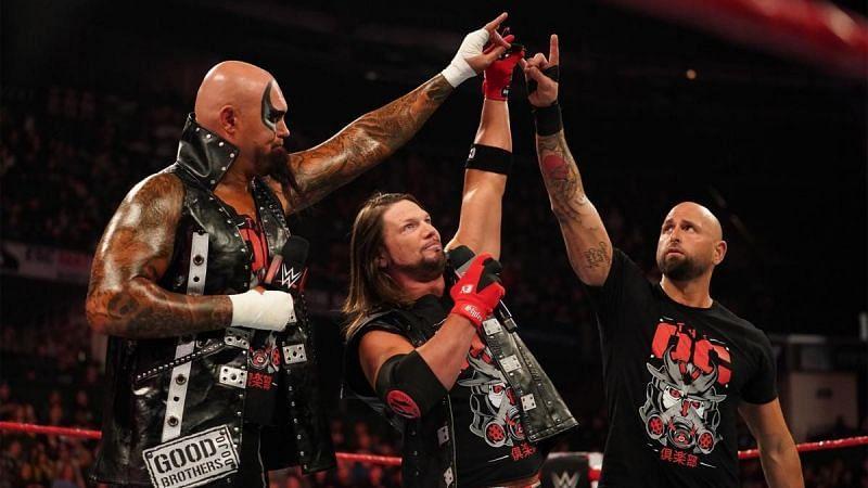 AJ Styles on RAW