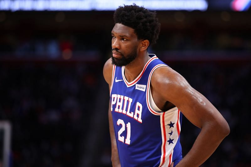 Joel Embiid is leading the charge for the contending Sixer