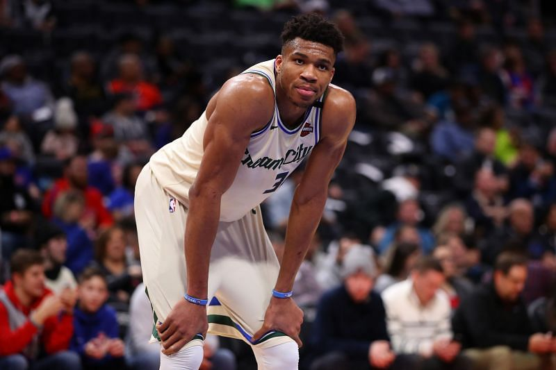 Giannis Antetokounmpo and the Milwaukee Bucks travel to Washington to take on the Wizards