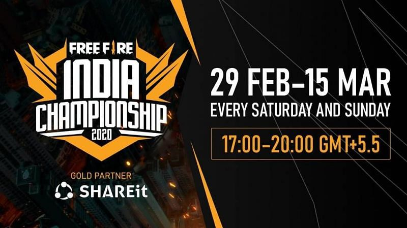 F ree Fire India Championship 2020
