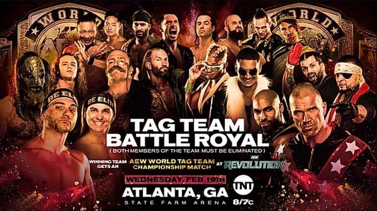 We will see a tag-team battle royale tonight