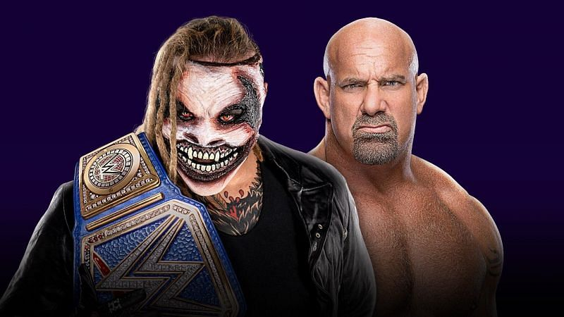 Goldberg vs The Fiend Bray Wyatt