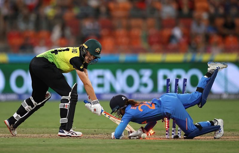 The Australia-India encounter broke the recordfor the highest attendance in a standalone women