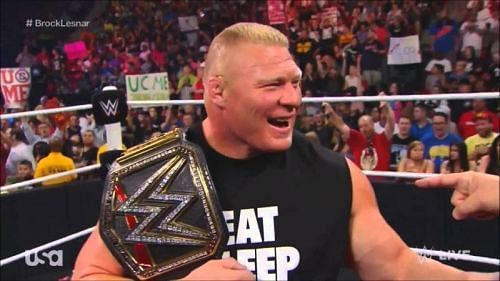 Expect Lesnar to return on the upcoming episode of Raw
